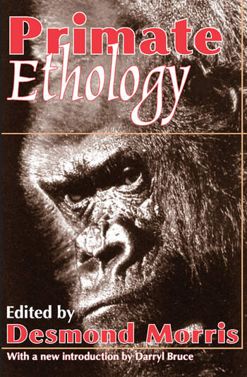 Primate Ethology book cover