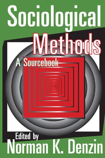 Sociological Methods A Sourcebook book cover