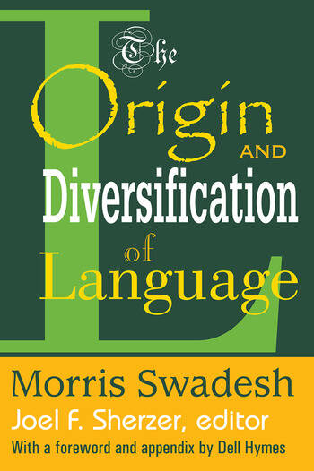 The Origin and Diversification of Language book cover