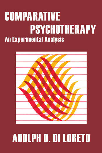 Comparative Psychotherapy An Experimental Analysis book cover