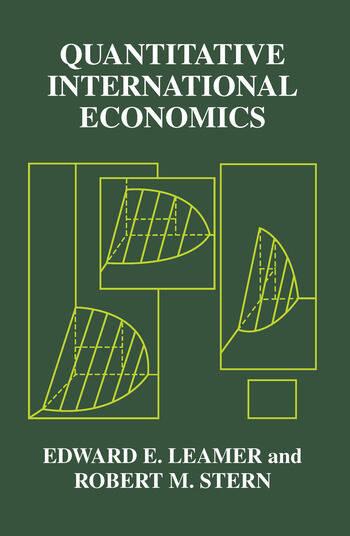 Quantitative International Economics book cover