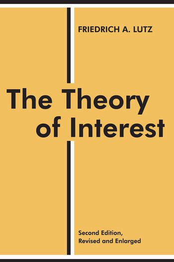 The Theory of Interest book cover