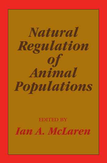 Natural Regulation of Animal Populations book cover