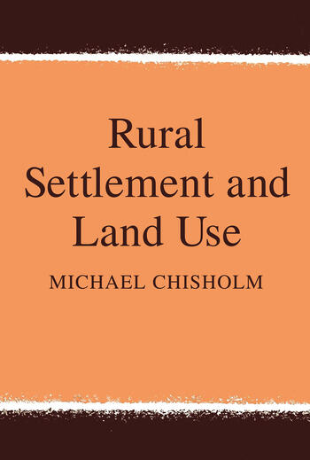 Rural Settlement and Land Use book cover