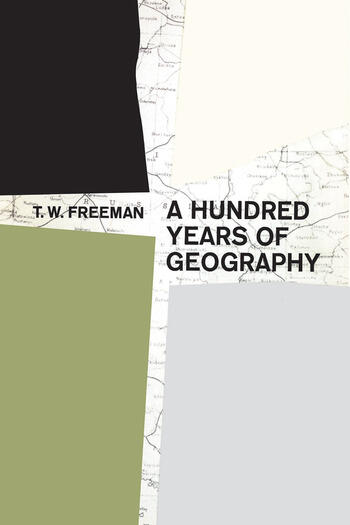 A Hundred Years of Geography book cover