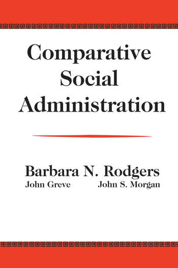 Comparative Social Administration book cover