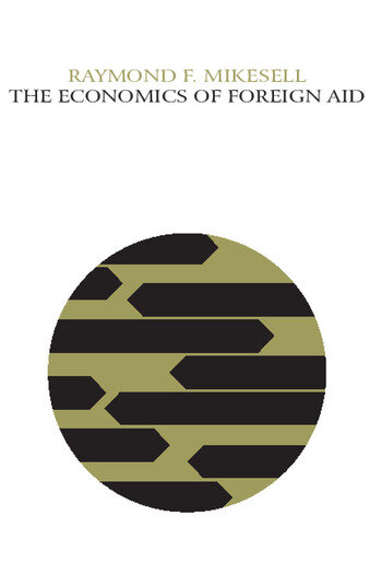 The Economics of Foreign Aid book cover