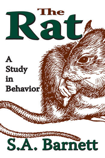 The Rat A Study in Behavior book cover