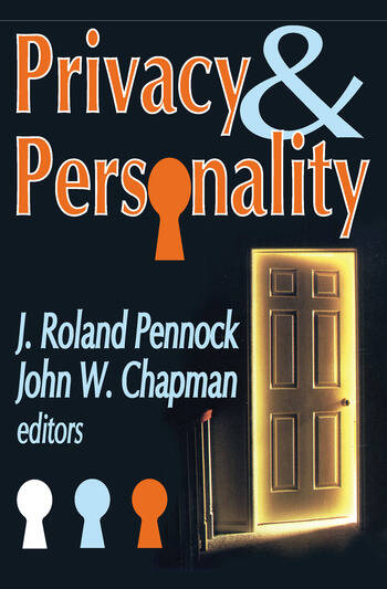 Privacy and Personality book cover