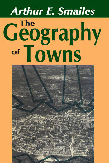 The Geography of Towns book cover