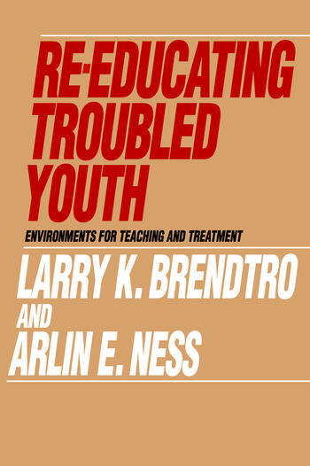Re-educating Troubled Youth book cover