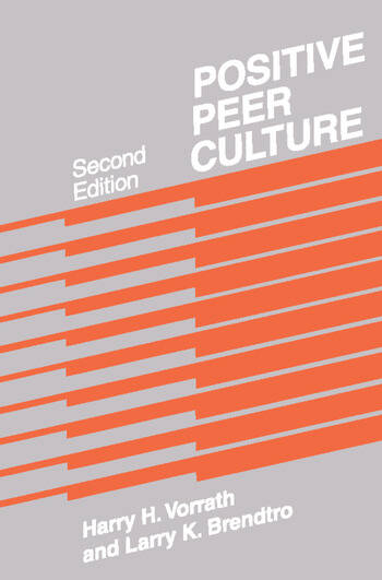 Positive Peer Culture book cover