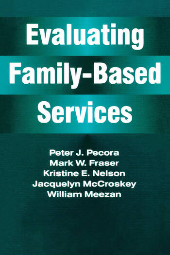 Evaluating Family-Based Services book cover