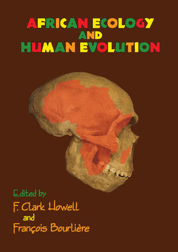 African Ecology and Human Evolution book cover
