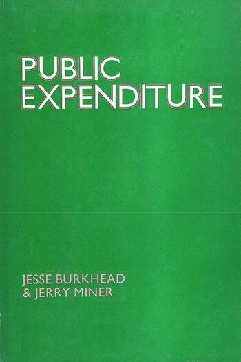 Public Expenditure book cover