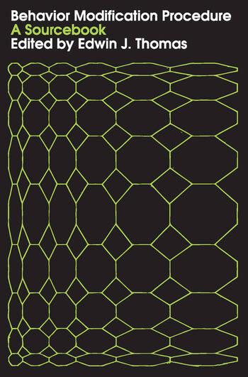 Behavior Modification Procedure A Sourcebook book cover