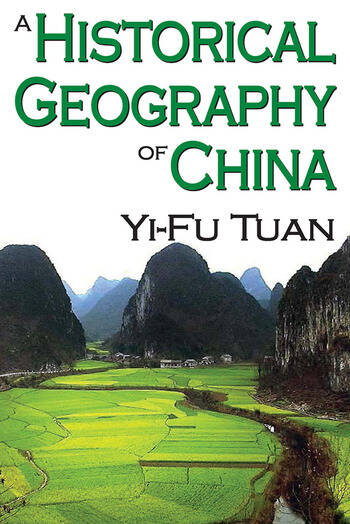 A Historical Geography of China book cover
