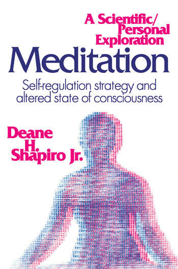 Meditation Self-regulation Strategy and Altered State of Consciousness book cover