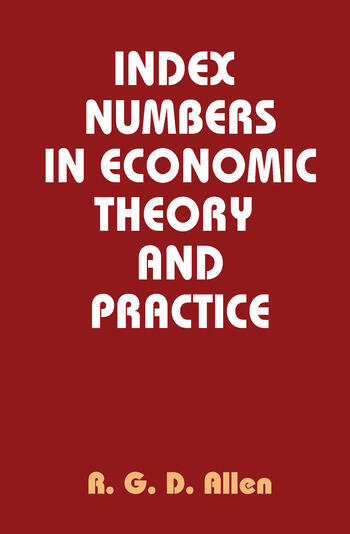 Index Numbers in Economic Theory and Practice book cover