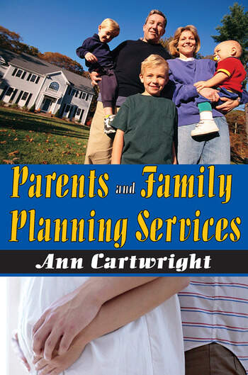Parents and Family Planning Services book cover