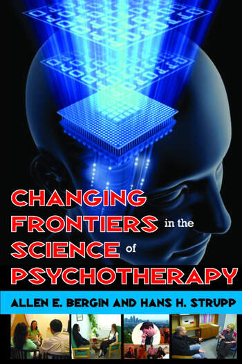 Changing Frontiers in the Science of Psychotherapy book cover