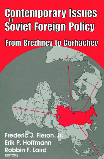 Contemporary Issues in Soviet Foreign Policy book cover