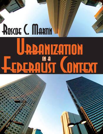 Urbanization in a Federalist Context book cover