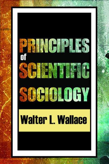 Principles of Scientific Sociology book cover