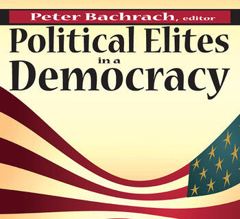 Political Elites in a Democracy book cover