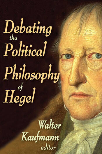 Debating the Political Philosophy of Hegel book cover