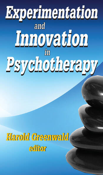 Experimentation and Innovation in Psychotherapy book cover
