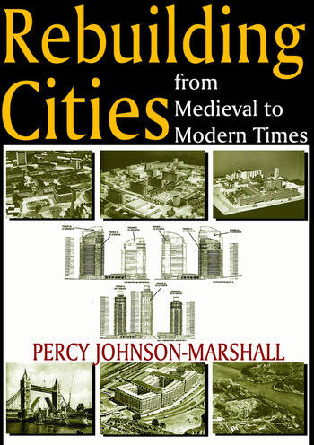 Rebuilding Cities from Medieval to Modern Times book cover
