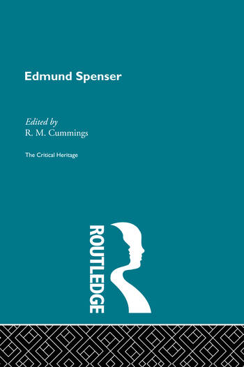 Edmund Spencer The Critical Heritage book cover