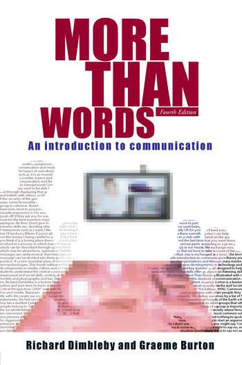 More Than Words E4 book cover