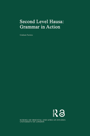 Second Level Hausa Grammar in Action book cover