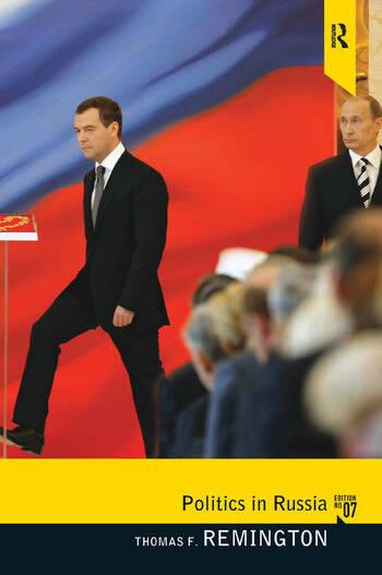 Politics in Russia book cover