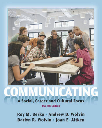 Communicating A Social, Career, and Cultural Focus book cover