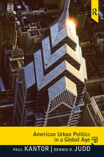 American Urban Politics in a Global Age book cover