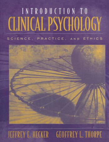Introduction to Clinical Psychology book cover