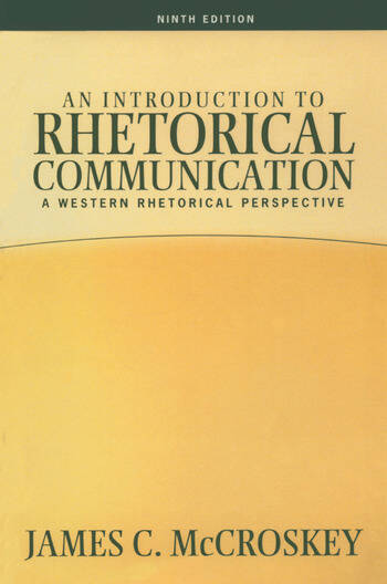 Introduction to Rhetorical Communication book cover