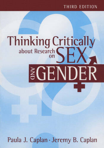 Thinking Critically about Research on Sex and Gender book cover