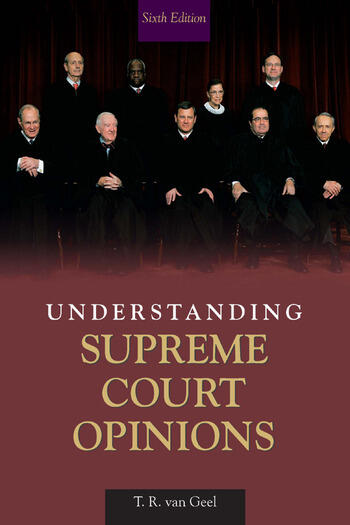 Understanding Supreme Court Opinions book cover