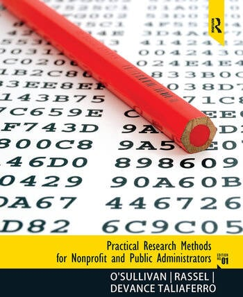 Practical Research Methods for Nonprofit and Public Administrators book cover