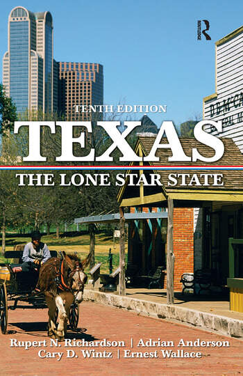 Texas The Lone Star State book cover