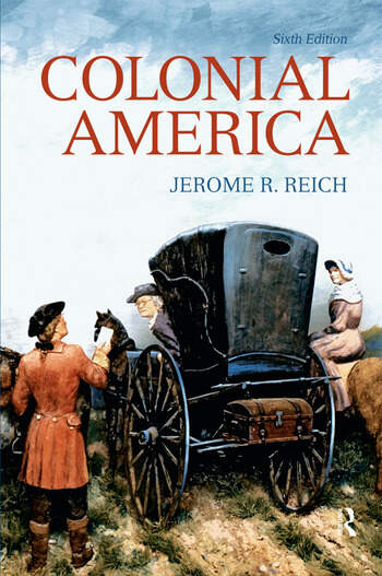 Colonial America book cover