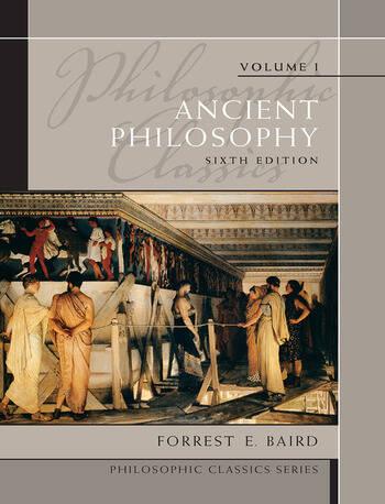 Philosophic Classics Ancient Philosophy, Volume I book cover