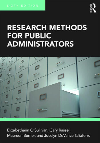 Research Methods for Public Administrators book cover