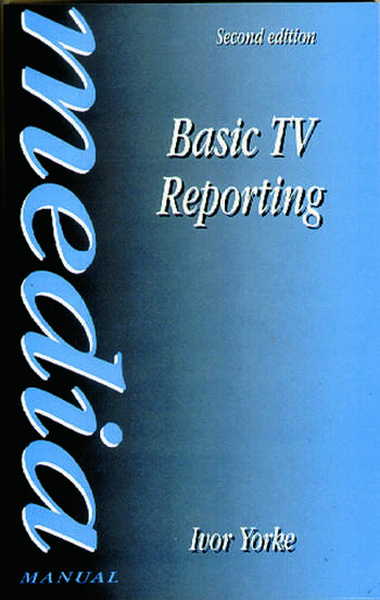 Basic TV Reporting book cover