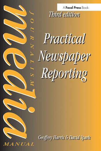 Practical Newspaper Reporting book cover