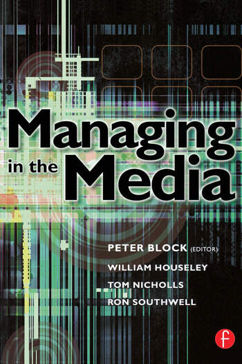 Managing in the Media book cover